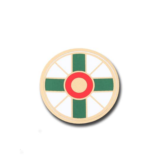 Adesivo com emblema da Izunome - Pequeno