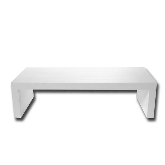 Mesa Lar em madeira branca