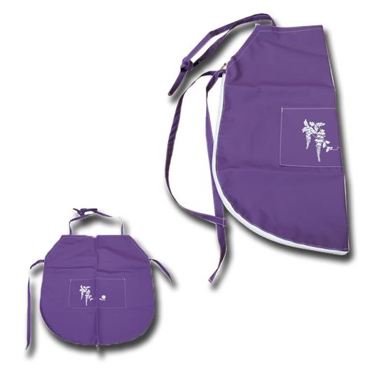 Avental / Bolsa para Ikebana
