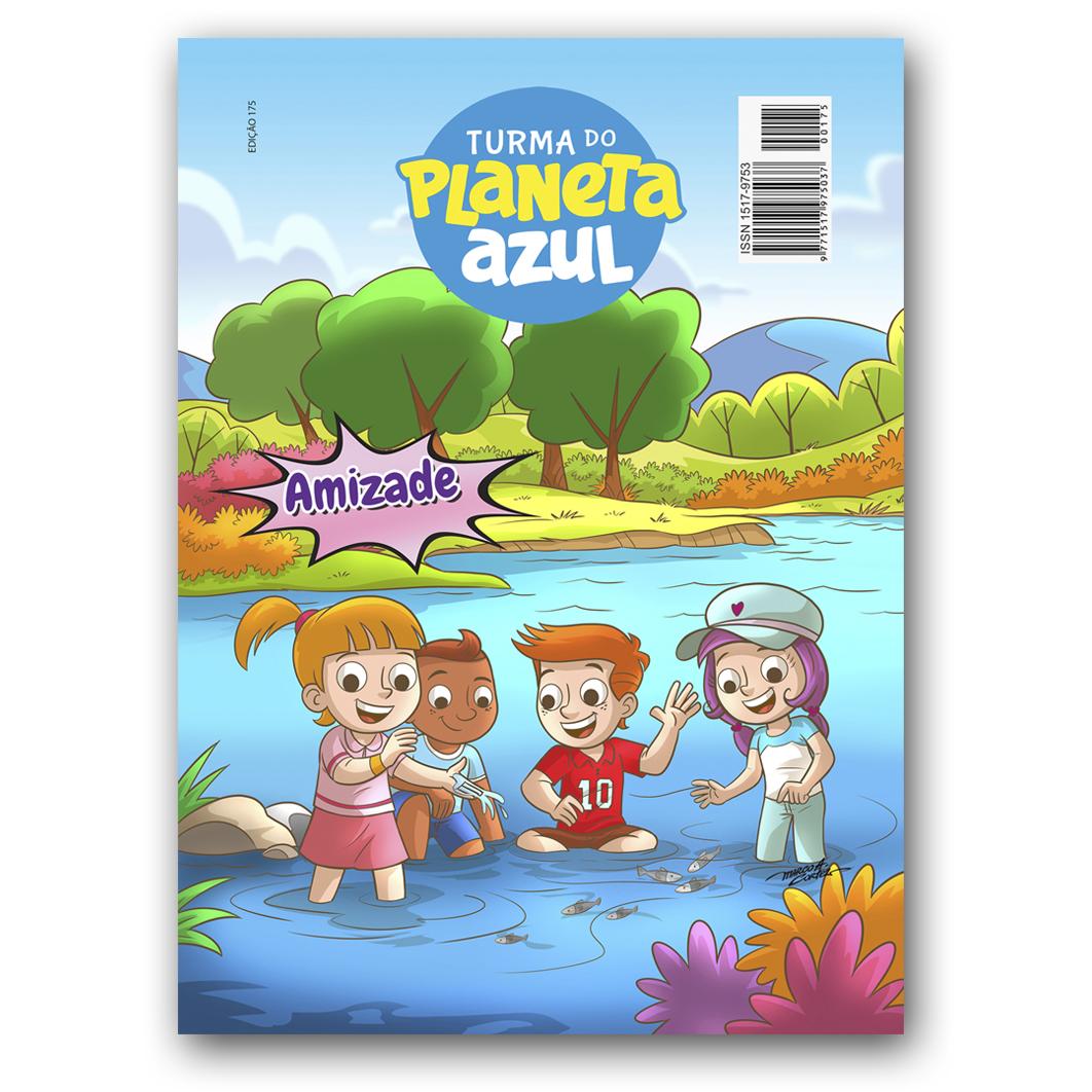 Revista Turma do Planeta Azul - Edição 175