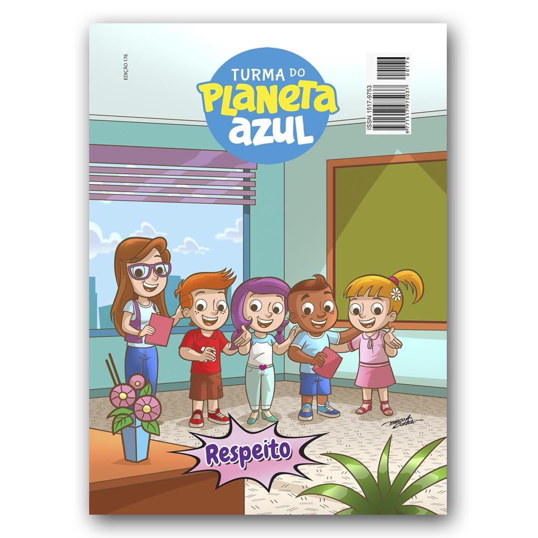 Revista Turma do Planeta Azul - Edição 176