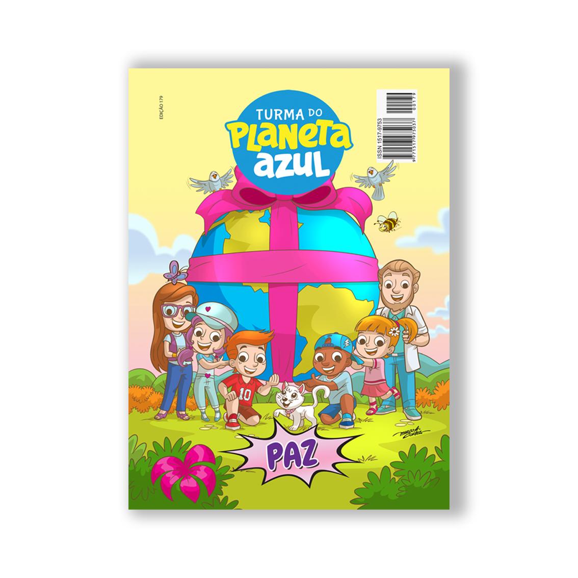 Revista Turma do Planeta Azul - Edição 179