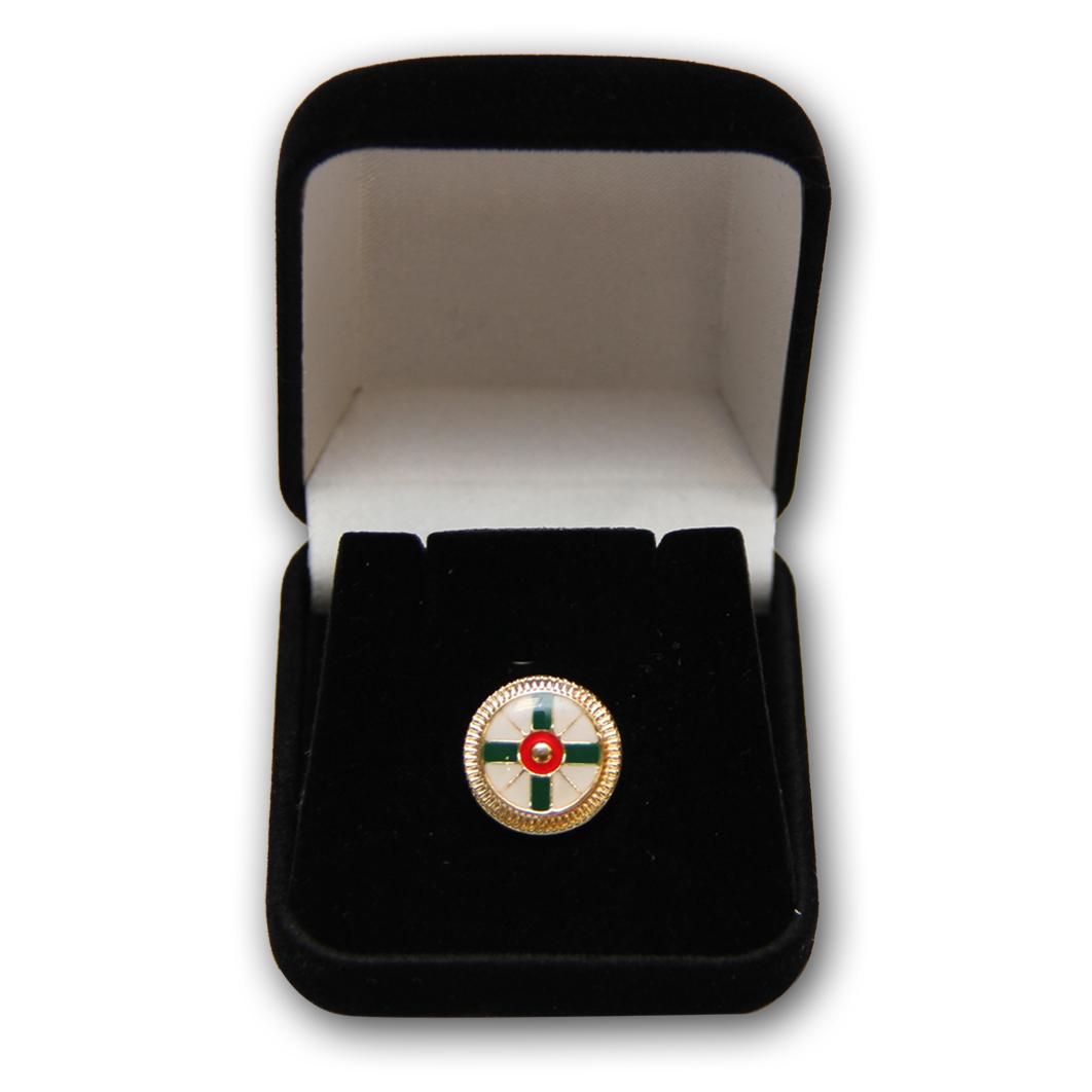 Broche Comemorativo 50 Anos Sede Central - Estojo Preto