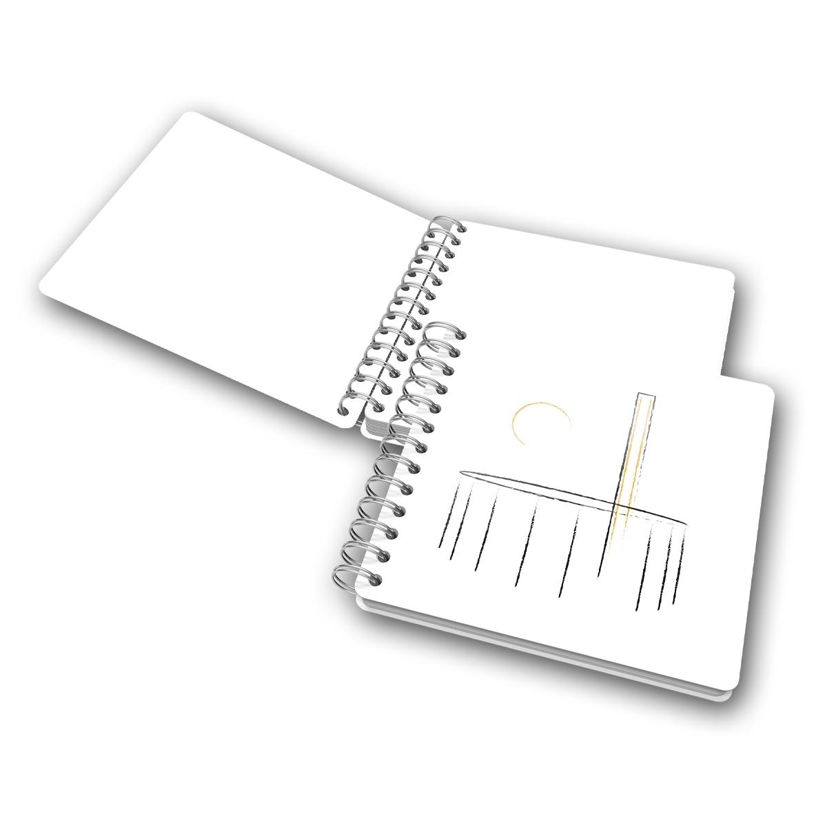 Caderno SSG 25 anos - Branco sem pauta