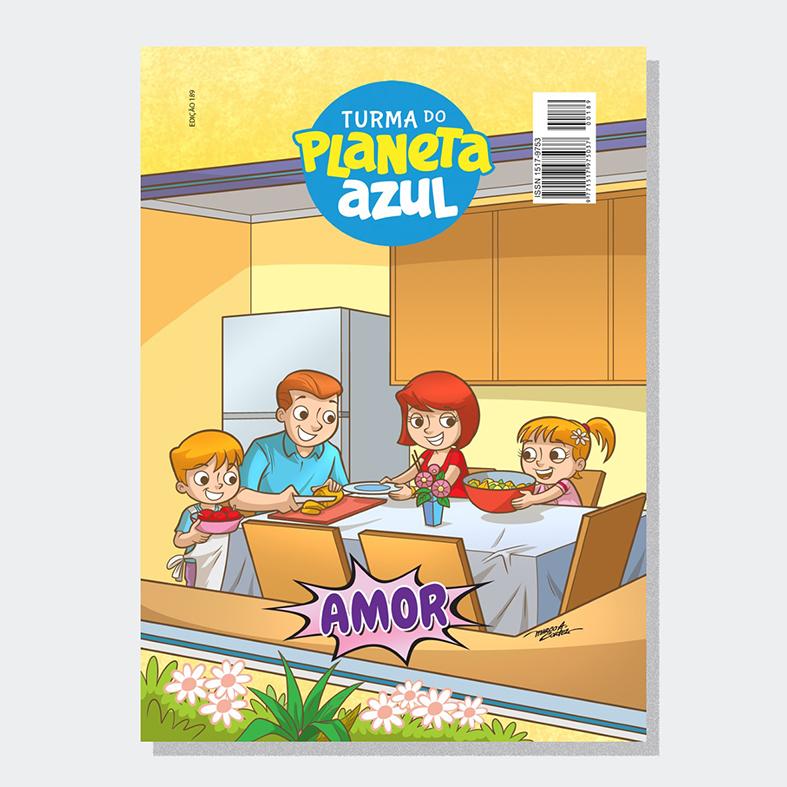 Revista Turma Planeta Azul - Ed 189 Amor